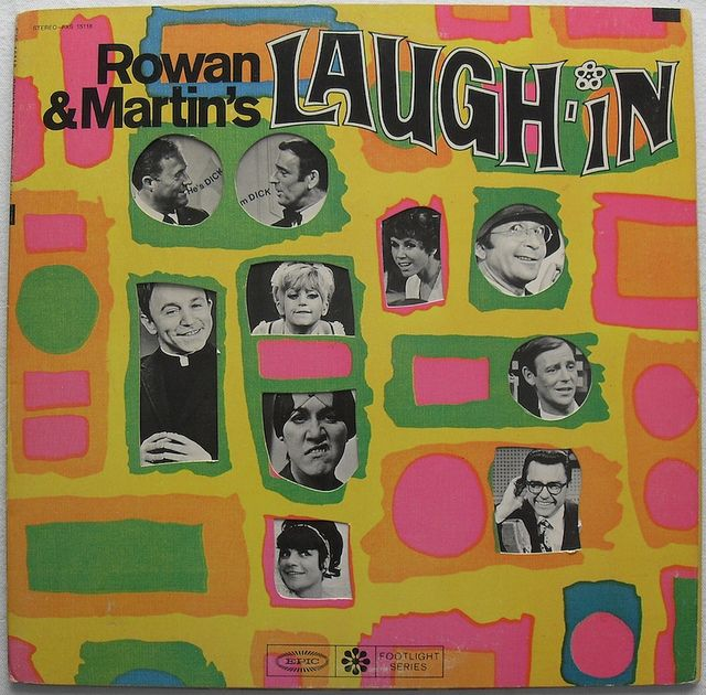 1968 ROWAN and MARTIN Laugh In vintage LP record album sleeve 1960s TV show by Christian Montone, via Flickr