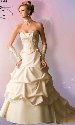 17 meilleures id es propos de robes de mari e d 39 ivoire for Robes de mariage en argent