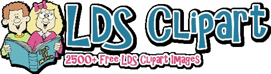 Great clipart for use in primary, FHE, sunday school lessons, etc.  All FREE!
