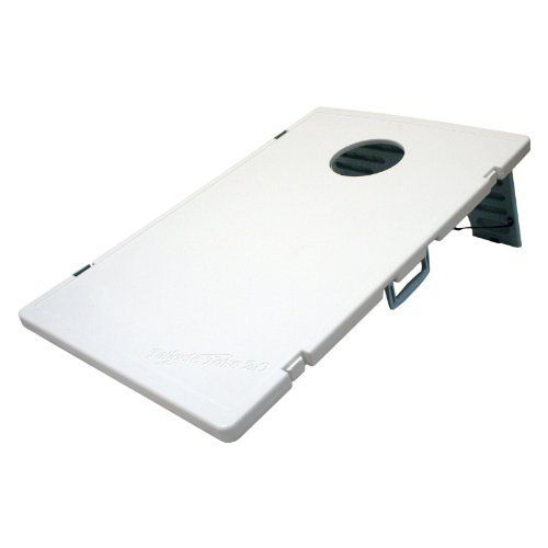 Wild Sports Tailgate Toss 2.0 - Plastic Weatherproof Version by Wild Sports. $71.72. These days, if you're having a tailgate or barbecue, you're having bean bag toss - get the Tailgate Toss 2.0 Cornhole Set and keep the streak alive. This ultra-portable version of the popular game features 2 lightweight plastic boards that snap together and unfold quickly and easily. Each board measures 3 feet long and 2 feet wide. The set comes with 8 heavy-duty bean bags, 4 red...