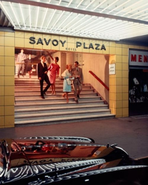 Wolfgang Sievers, Entrance, Savoy Plaza Hotel, Melbourne, 1965