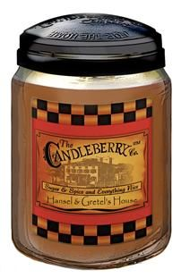 Candleberry candles are the absolute best~ We used Hansel and Gretel's house this past Christmas and the whole first floor smelled like baking cookies :)