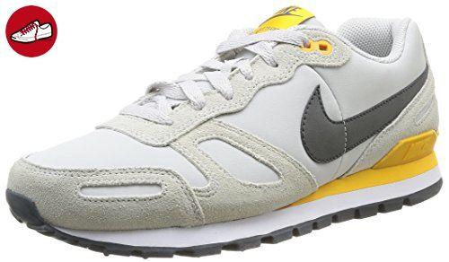 Nike Air Waffle Trainer Leather Herren Low-Top Sneaker, Mehrfarbig (LGHT ASH GRY/MDM ASH-WHITE-UNV), EU 40 - Nike schuhe (*Partner-Link)