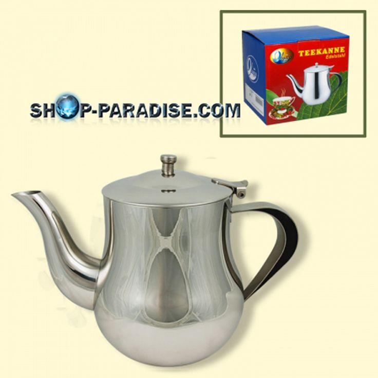 SHOP-PARADISE.COM:  Teekanne Edelstahl 700 ml 19,99 €