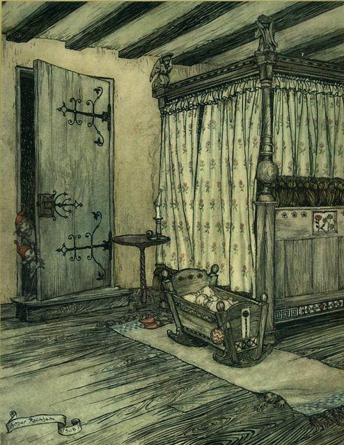 A Midsummer Night's Dream, illustration by Arthur Rackham