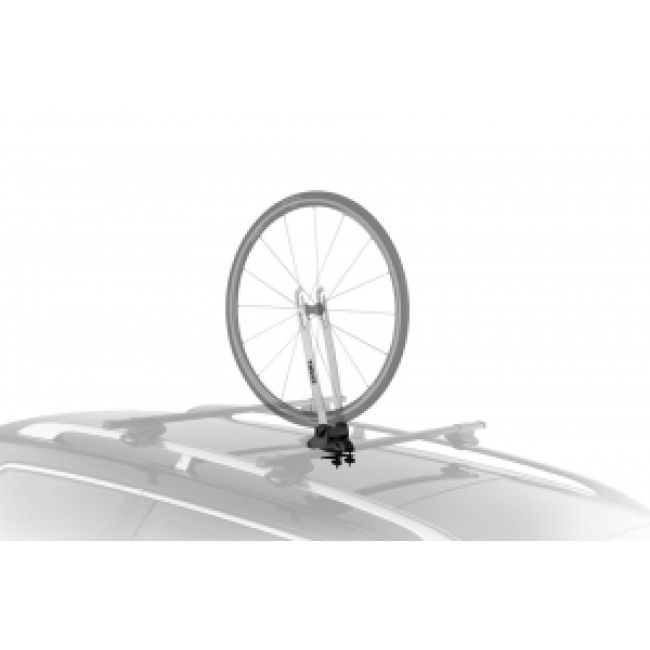 Universal Front Wheel Silver Holder - Roof Rack Superstore