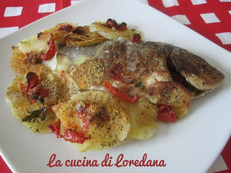 184 best per secondo pesce images on pinterest sea food for Italian fish recipes