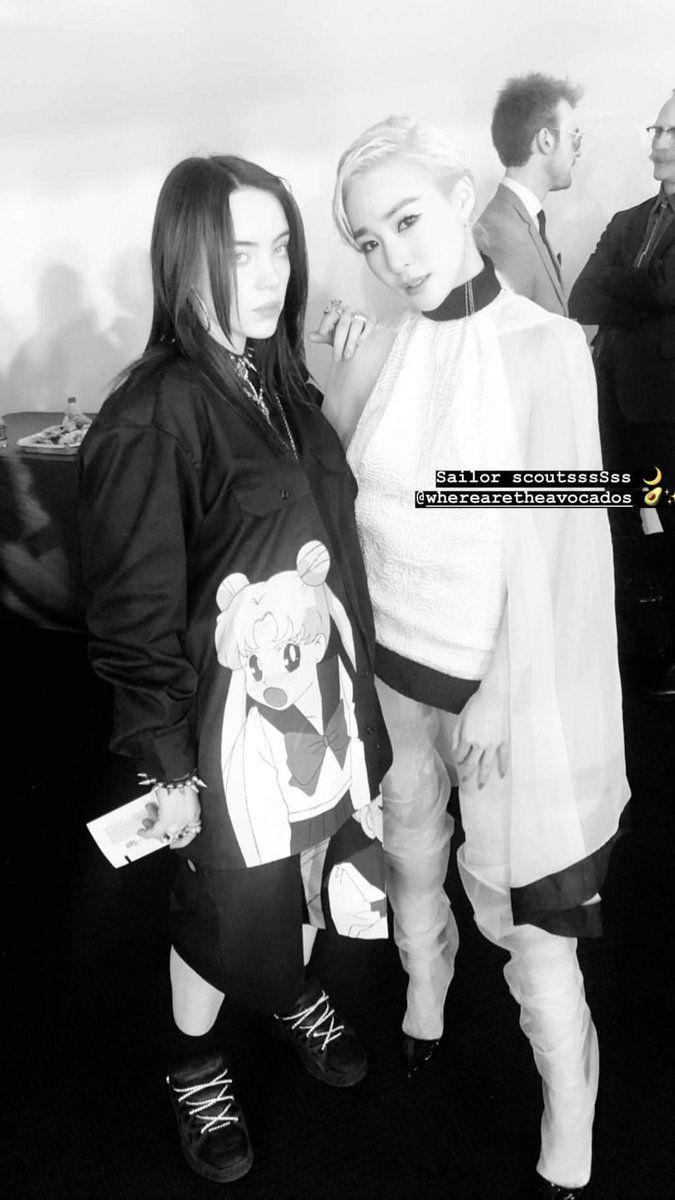 Tiffany & Billie Eilish #kpop #kdrama #bts #exo #kpoparmy