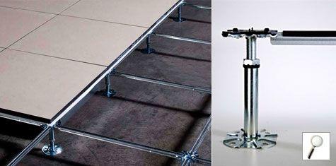 PETRAL RAISED FLOORS - STURCTURE