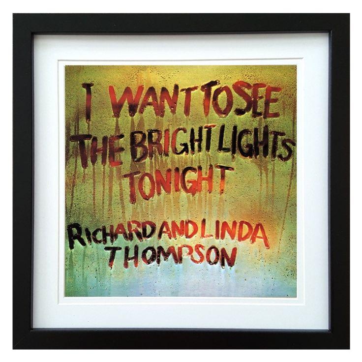 Richard & Linda Thompson | I Want To See The Bright Lights Album | ArtRockStore