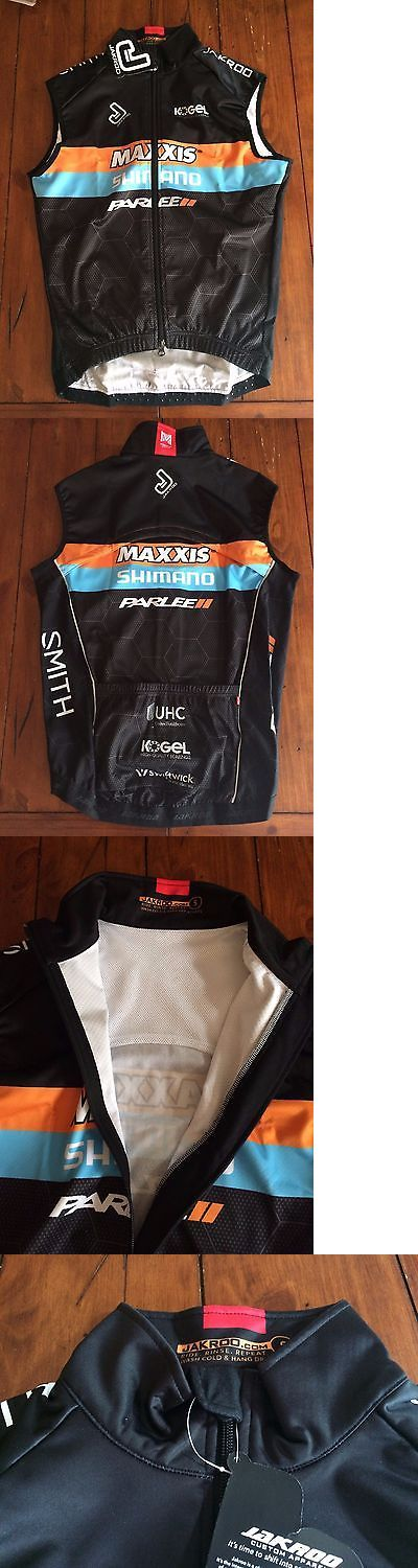 Vests 177856: Jakroo Maxxis Shimano Parlee Cx Team Thermal Vest Men S Small Slim Fit -> BUY IT NOW ONLY: $65 on eBay!