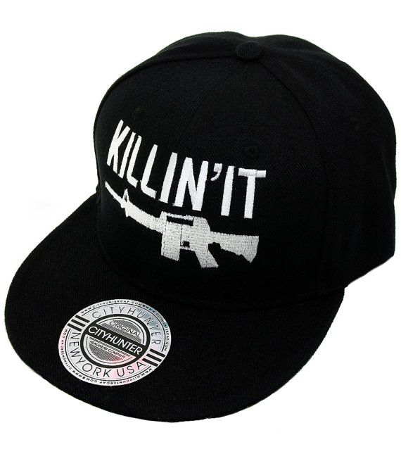 SALE Killin It Snapback SALE by ElevenTwelveThirteen on Etsy, $15.00