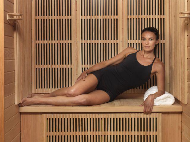 infrared sauna wall finish - Google Search