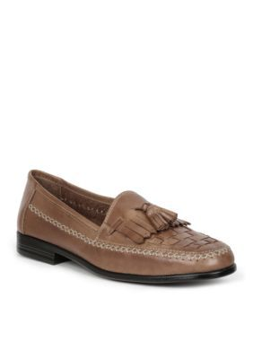 Giorgio Brutini Men's Monocle Tassle Slip-On - Tan - 6.5 Medium