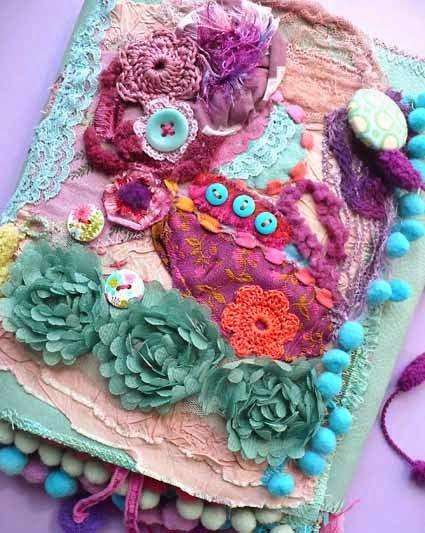 Fabric organizer _ Elena Fiore -  www.decoreblablabla.blogspot.com