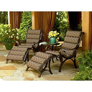 Great Jaclyn Smith Today Dominic 5 Pc. Seating Set   Outdoor Living   Patio  Furniture