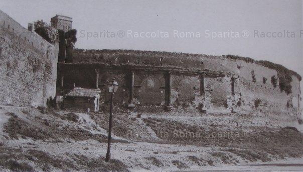 Viale castrense – Anfiteatro Castrense Anno: inizi '900