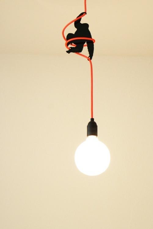 Kabel King Kong ceiling lamp