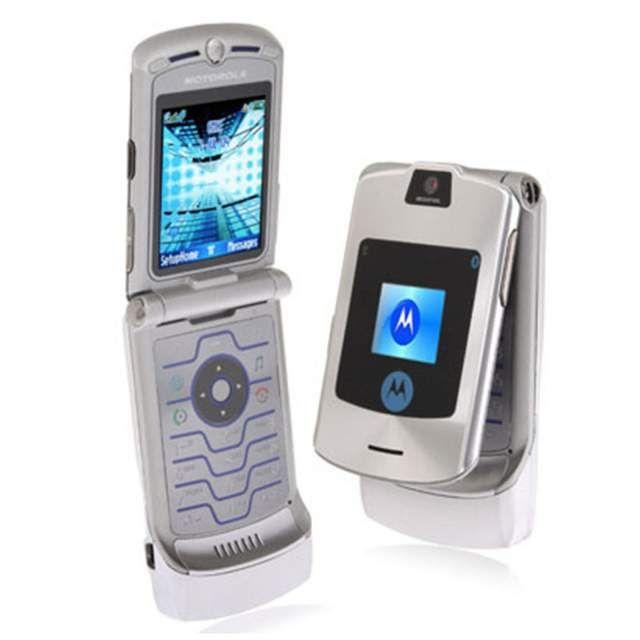 Motorola V3i Apertura Conchiglia Startac Ricondizionato Argento