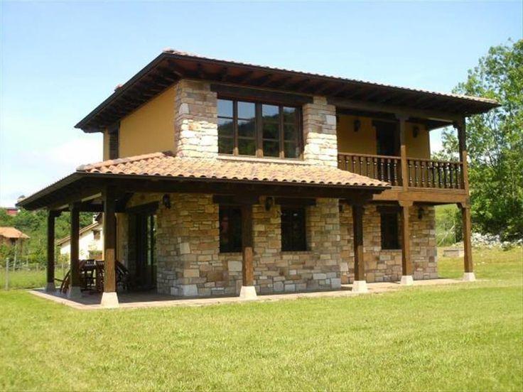 499 melhores imagens de exterior da casa no pinterest casas de pedra lugares bonitos e paisagens - Planos de casas de campo rusticas ...