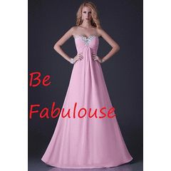AFFORDABLE collection pink chiffon  lace up back size 2-16 USA in stock !!! for R799.00