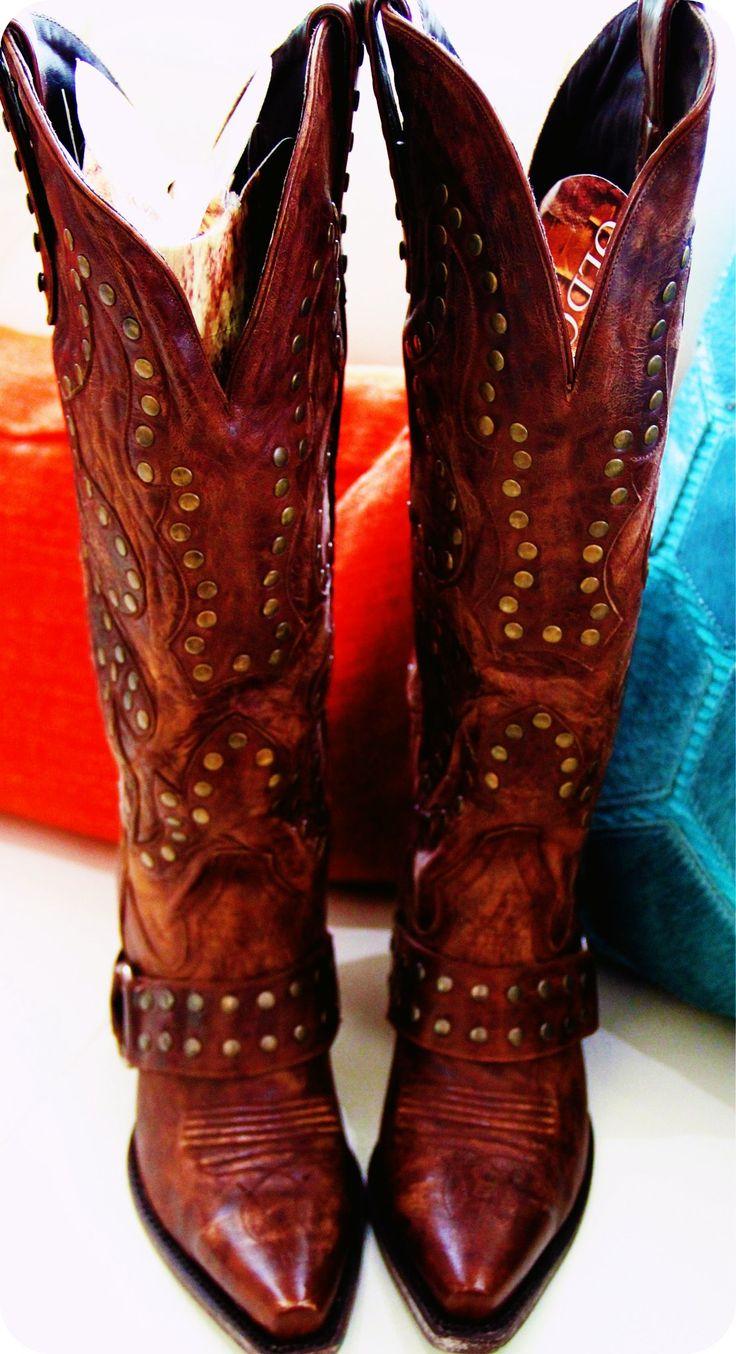 Lane Boots - Stud Rockers - http://www.langstons.com/lane-boots-womens-stud-rocker-cowboy-boots-lb0010b.html