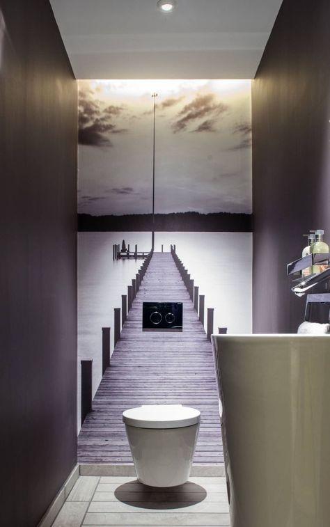 Aufgehängtes WC, warum und wie kann man es in seine Einrichtung integrieren?   – Bruneau Jessica