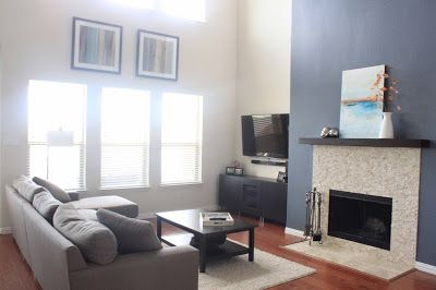 Sherwin William S Morning Fog Sw6255 Living Space