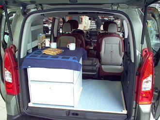 C-tech: Campingvan - Minicamper - Citroen Berlingo - Camper, Camping