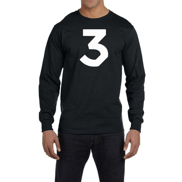 Chance The Rapper 3 Logo Long Sleeve Shirt Hip Hop Coloring Book Acid Rap New