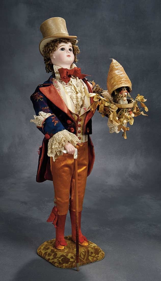 """""""The Voyage Continues"""" - Saturday, January 7, 2017: 145 French Musical Automaton """"Gentleman with Surprise Beehive"""" Roullet et Decamps"""