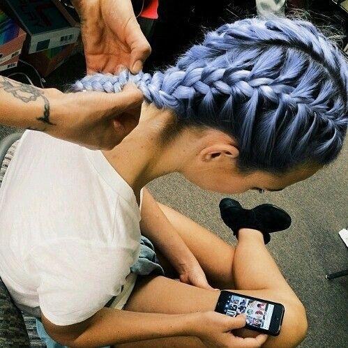 Imagen de hair, braid, and hairstyle