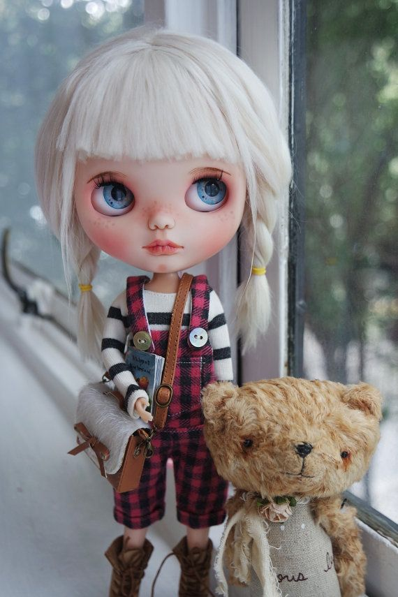 Reservados de M Ooak Custom Blythe Doll NOKO por por BlythebyCihui                                                                                                                                                     Más