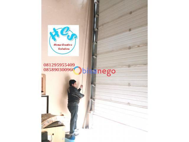 service rolling door industri 081295955409 jakarta cakung cilincing bintaro bsd taman tekno sunter - 1/1