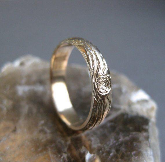 for him - wood grain ring