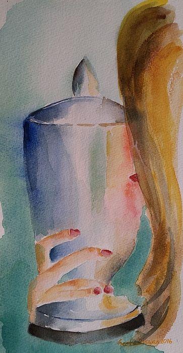 Cherished Moment, watercolor , #originalart #contemporaryart #conceptart #art #painting #trophy #prize #cherished #moment #watercolor #arte #aquarelle #impressionism #under$100 #artprint #motivation #inspirational