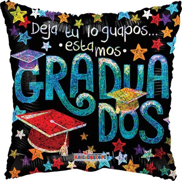 "Graduados Guapos 9"" Globo Met Graduacion, COD: V3513609, UPC Code: V3513609, Venta En Linea, Mayoreo Globos, Metálicos/Mylar/Metalizados, 9"" Mylar, México. Teleglobos.com"