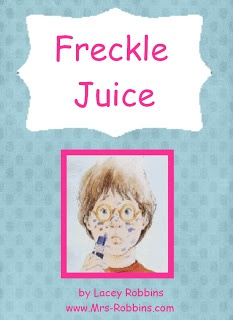 Mrs. Robbins' 2nd Grade: Free Freckle Juice Unit 20 pages