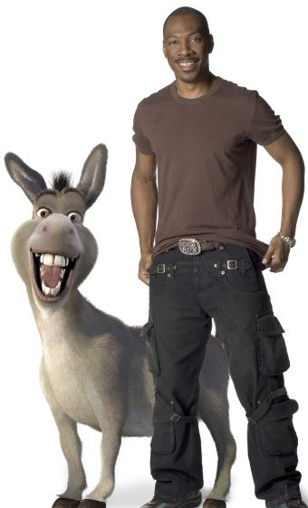Eddie Murphy (and Donkey) my favorite four-legged character