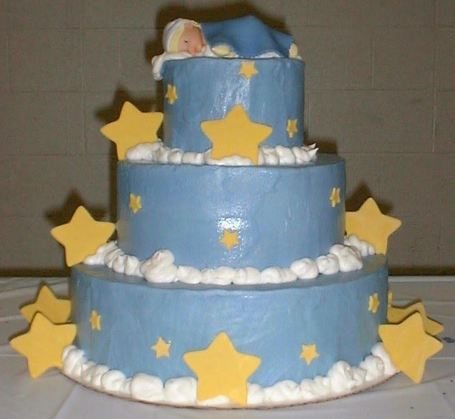 Boy Shower Cakes