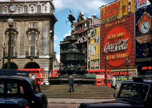 London, 1961... This is the Piccadilly Circus of my childhood