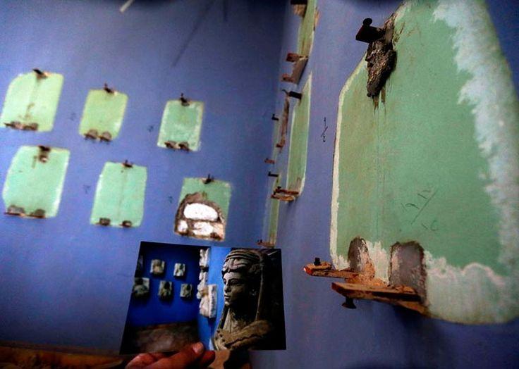 5 ans après le début de la guerre qui ravage laSyrie, le photographelibanaisJoseph Eid,reporter pour l'AFP, a voulu documenterles nombreux monuments