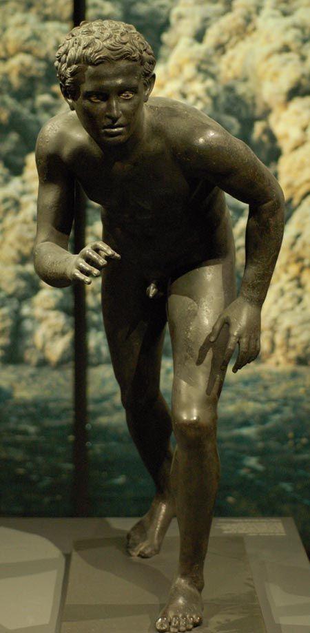 Roman Bronze Sculpture from the Napoli region (Herculaneum, Pompei)