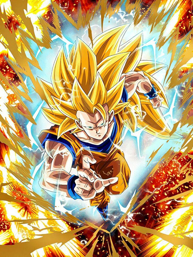 Goku super saiyan 3 db dragon ball super e projekte - Goku 5 super saiyan ...
