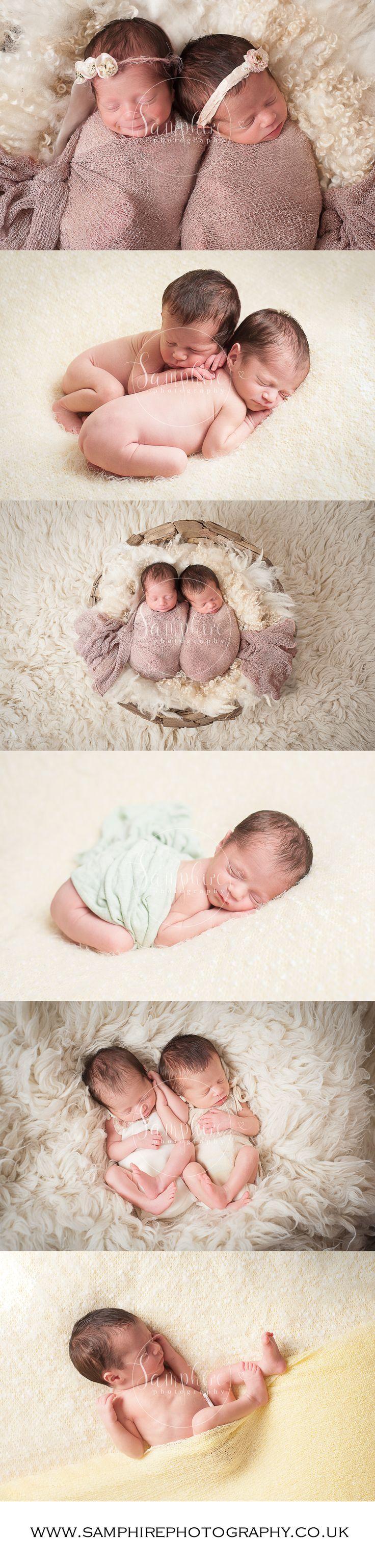 Newborn Twin Girls. Simply too much cuteness to handle. #newbornportraitssussex #newborn #newbornportraitshorsham #Horsham #nickond3 #twins #snuggly