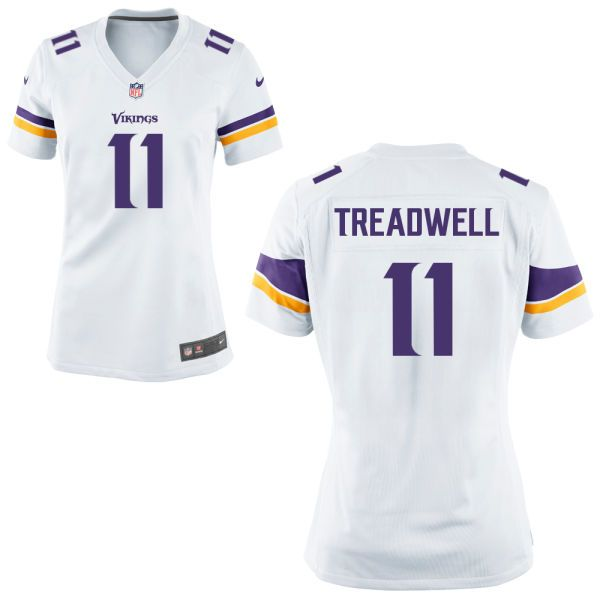 ... Vapor Untouchable Limited Jersey Womens Minnesota Vikings Laquon  Treadwell 11 Nike White Game NFL Jersey ... c87a6f423