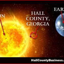 How hot IS it in Hall County, GA?  It's THIS hot!