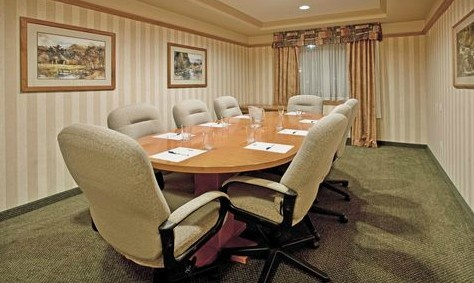 Holiday Inn Express Hotel & Suites Vernon Photo | Boardroom ideal for small meetings.