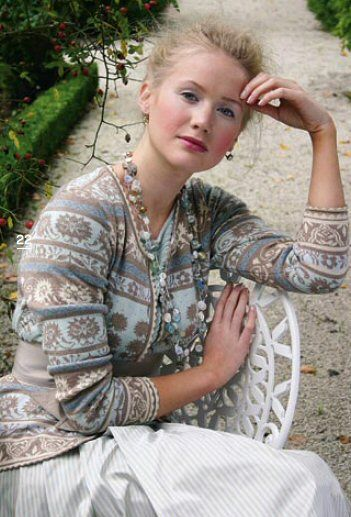 Oleana und Solveig Hisdal   Tichiro – knits and cats
