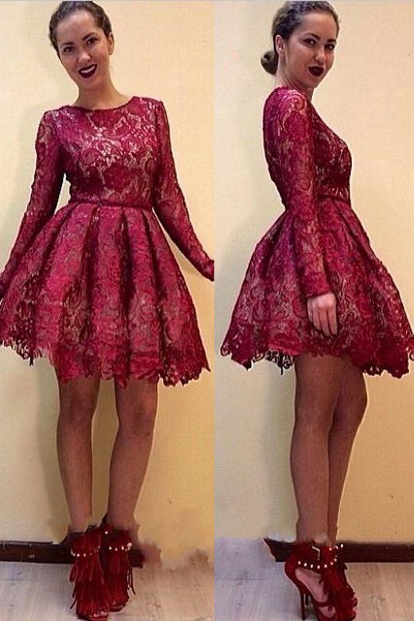 Best 25 Maroon Lace Dress Ideas On Pinterest